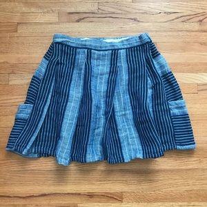 Ace & Jig Boro Pocket Linen Skirt